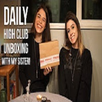 Positive Smash 420 Daily High Club Unboxing w/My Sister!