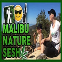 That High Couple Nature Sesh in Malibu, California!
