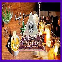 That High Couple FANCY WEED DINNER w/ Moonlit Moveable Fest