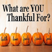 Tim Black What Are You Thankful For? Happy Be Thankful Day! Happy Thanksgiving!