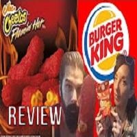 Whitfield Food Reviews Burger King Flamin' Hot Mac 'n Cheetos