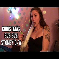 CosmicCloudz420 Stoney Christmas Eve Eve Q/A Sesh
