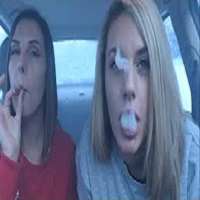 HOTBOXING MY CAR IN THE SNOW | Cloudy Hot Box Challenge | TheDabSpot