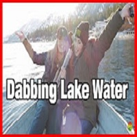 Evil Evelyn DABBING LAKE WATER | The Dab Spot