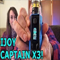 iJoy Captain X3 Triple 20700 Kit! | Kelly's Back from Vacation! | IndoorSmokers