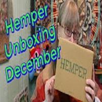 MaryLovesGlass Hemper Box Unboxing December