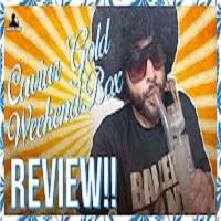 Master Bong Revolver Bowl + 1/8 Caviar Gold & The Weekend Box