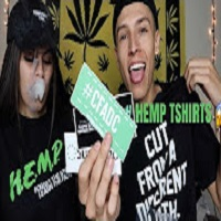 NameLess Stoners SMOKING A BLUNT WHILE TRYING ON HEMP CLOTHING !!!
