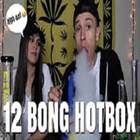 NameLess Stoners 12 BONG HOTBOX IN OUR STUDIO !!! **12 DAYS OF LITMAS**