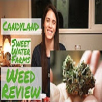 Positive Smash 420 Candy Land by Sweet Water Farms-WEED REVIEW & Blazer Torch/12 Days Of Giveaways DAY 7