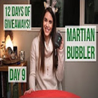 Positive Smash 420 Martian Bubbler, 12 Days of Giveaways Day 9 & Massive Christmas Weed Haul
