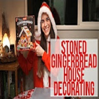 Positive Smash 420 Stoned Gingerbread House Decorating!