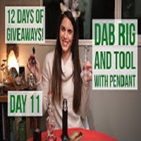 Positive Smash 420 Dab Rig and Tool with Pendant/12 Days of Christmas DAY 11