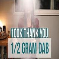 Positive Smash 420 100K Thank You 1/2 Gram Dab