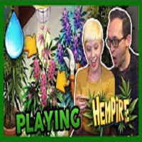 That High Couple Playing a Weed Growing Game!