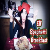 Whitfield Foods Buddy the Elf Spaghetti Breakfast Recipe With Jenn the Snarky Elf