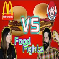 Whitfield Food Reviews Food Fight! McDonald's McDouble VS Wendy's Double Stack Taste Test