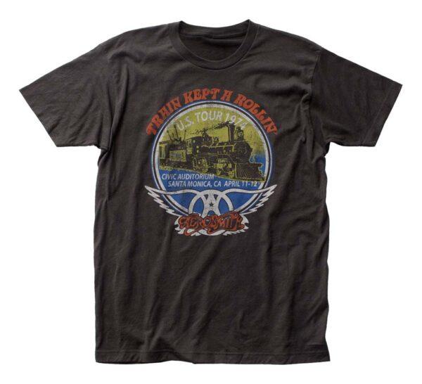 Aerosmith Train Kept A Rollin' T-Shirt