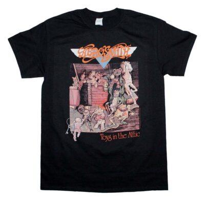 Aerosmith Toys In The Attic T-Shirt