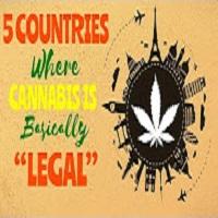 CannaViceTV 5 Countries Where Cannabis is Basically Legal 🔥💨