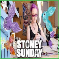 Melting Glass into Fish | Stoney Sunday vlog | CoralReefer