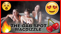 Evil Evelyn SMOKING WEED IN A HOT TUB W/ THE DAB SPOT & MACDIZZLE