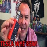 Tesla Wye 85w & H8 Tank! | W/ URBN Ejuice! | IndoorSmokers