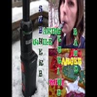 BAKING WHILE GETTING BAKED! | Mig Vapor | Sub Herb & Target Mini | KATIE BEAN