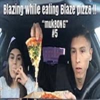"NameLess Stoners BLAZE PIZZA ""mukBONG"" + HEAVY HITTERS HOTBOX !!!"