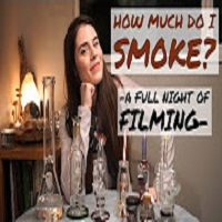 Positive Smash 420 HOW MUCH DO I SMOKE? -A Full Day of Filming-