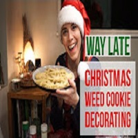 Positive Smash 420 Decorating Cookies-Late Christmas Video