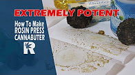 RuffHouse Studios How to Make Extremely Potent Rosin Press Cannabutter (Coconut/ Olive Oil): Cannabasics #83