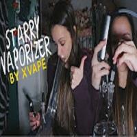 SilencedHippie VAPING THROUGH A BONG w/ the Starry Vaporizer by XVape!