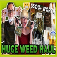 That High Couple FIRST HUGE WEED HAUL OF 2018 ($500+ Worth)