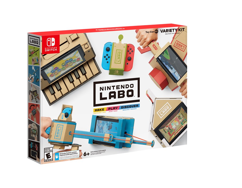 Unlimited Lives The Nintendo Labo
