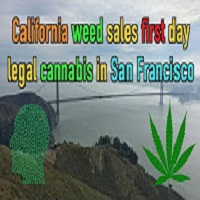 Weed News at 420 California weed sales first day legal cannabis in San Francisco