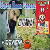 Whitfield Foods Nintendo Super Mario Cereal GIVEAWAY!! + Review!