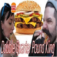 Whitfield Foods Burger King Double Quarter Pound King Sandwich REVIEW