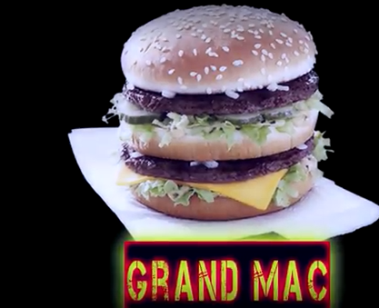 Whitfield Foods Grand Mac VS Double Quarter Pound King - McDonald's VS Burger King!!