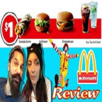 Whitfield Foods Reviews McDonald's Entire NEW $1 Value Menu Review