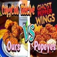 Whitfield Foods Popeyes Ghost Pepper Chicken Wings CopyCat DIY Recipe & Review!