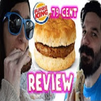 Whitfield Foods Burger King 79 Cent Sausage Breakfast Biscuit REVIEW