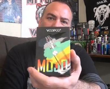 Voopoo Mojo Tiny 88w Mod! | & Moonies from Zamplebox! | IndoorSmokers