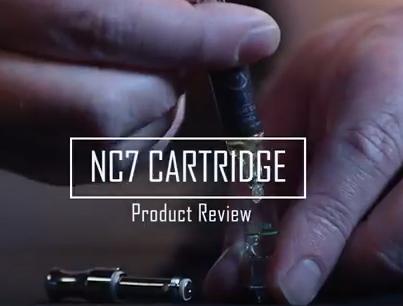 RuffHouse Studios NC7 eCig Cartridge Review (Refillable eJuice carts from Novel)