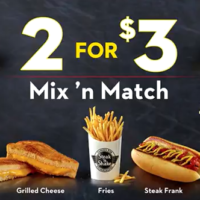 Whitfield Foods Steak 'N Shake New 2 for $3 Menu Review
