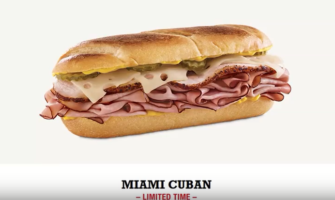 Whitfield Foods Arby's Legends NEW Miami Cuban REVIEW + Dollar General Haul