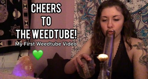 Cosmic Cloudz 420 Cheers to Weedtube! First Weedtube Smoke Sesh