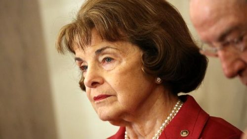 Feinstein, facing primary, backs legal weed in California