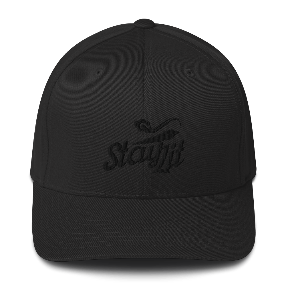 *Limited Edition* StayLit BLACKOUT Flexfit Hat